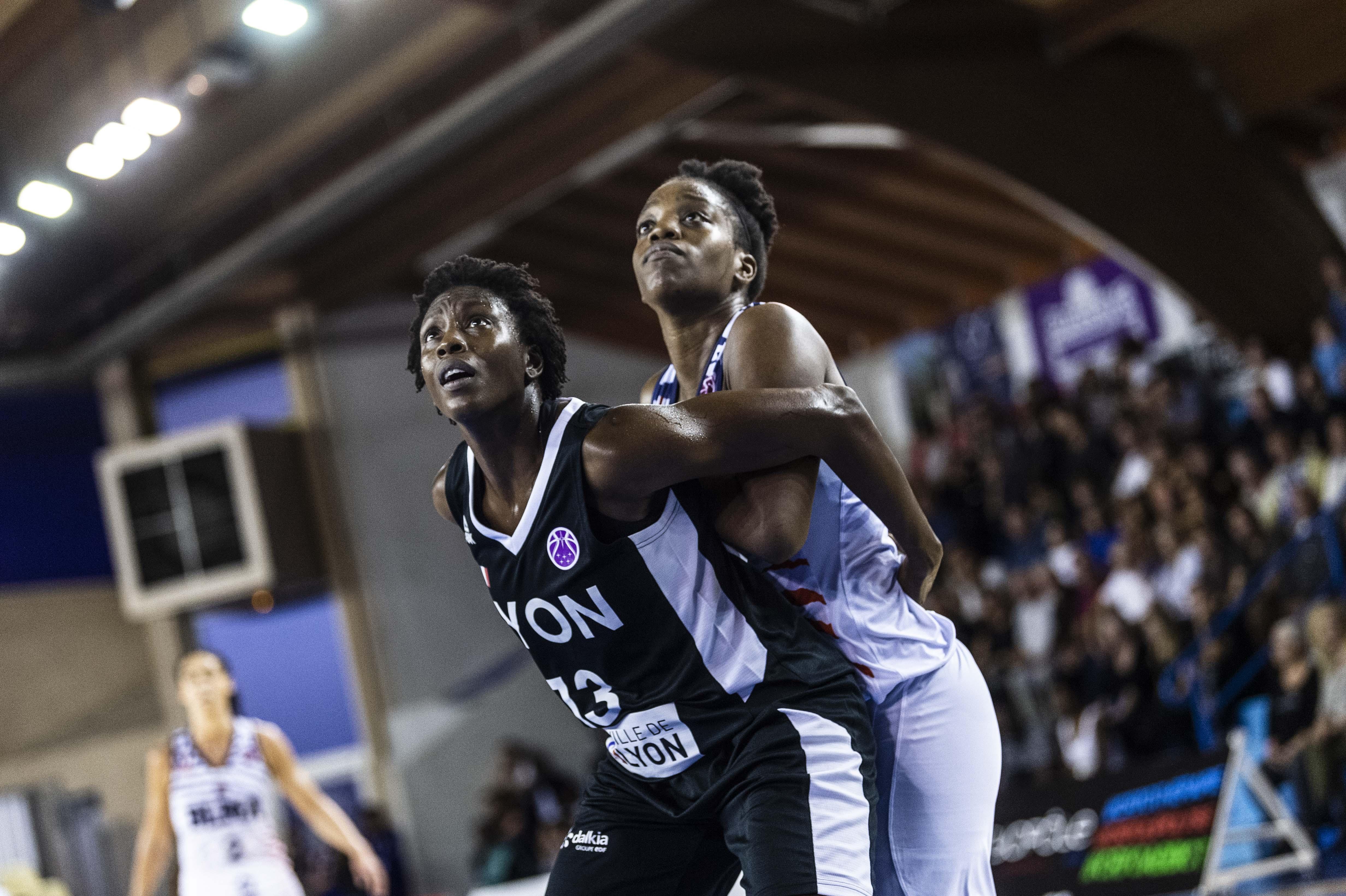 Reprise de l'EuroCup Women Lyon ASVEL Féminin